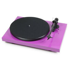 Pro-Ject Debut Carbon USB Plattenspieler (Pink) incl.Ortofon OM10 NEU+OVP!