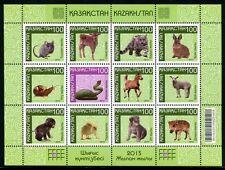 Kasachstan Kazakhstan 2013 Chinesische Tierkreiszeichen Tiere Zodiac Neujahr MNH