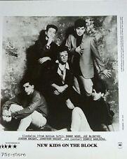 Original Promo Press Photo New Kids on the Block NKOTB