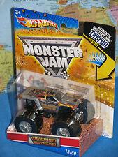 HOT WHEELS MONSTER JAM MAXIMUM DESTRUCTION TRUCK #19/80 TATTOO BRAND NEW & RARE