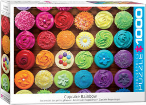 Cupcake Rainbow 1000 Piece Puzzle by Eurographics