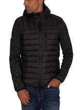 Superdry Men's Storm Hybrid Zip Jacket, Black