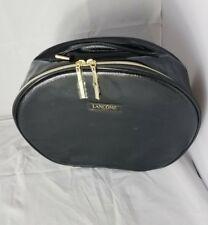 NWOT LANCOME LARGE TRAVEL HOLIDAY COSMETICS CASE BAG Zipper NEW Ladies Makeup