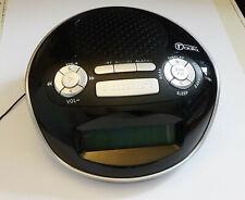 Small DAB clock radio also FM