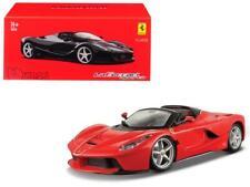 Ferrari LaFerrari Aperta Red Signature Series 1/43 Diecast Model Car by Bburago