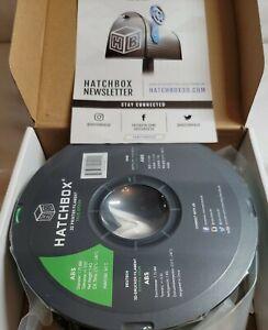 Hatchbox ABS 1.75mm 3D Printer Filament 1 KG Spool True Green *SEALED*