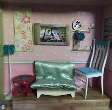 Mattel Fashion Fever 2006 Barbie Living Room Furniture Accessories Set