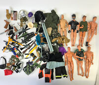 "1990s 12"" Action Man Figure Doll Weapons Accessories GI Joe M&C Formative Lot 21"
