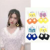 Fashion Boho Earrings Women Geometric Acrylic Dangle Stud Earrings Jewelry