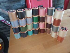 30 X Bobbins Of Sealed Thread Dewhurst's Sylko