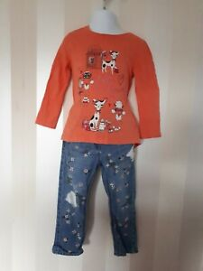 GIRLS NEXT OUTFIT SIZE 2-3 YEARS VGC REF BOX A6