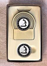 PINEHURST No. 2 Golf Country Club ~ Boxed Set ~ Money Clip + Ball Marker