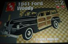 AMT Ertl 1941 FORD WOODY STOCK Model Car Mountain KIT FS