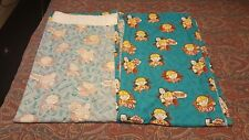 BOB THE BUILDER tapetop curtains blue W60 L53 material fabric crafts upcycling