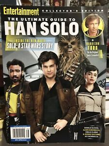 ENTERTAINMENT WEEKLY MAGAZINE THE ULTIMATE GUIDE TO HAN SOLO COLLECTOR'S EDITION
