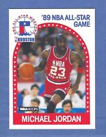 1989-90 NBA Hoops Michael Jordan CHICAGO BULLS #21 GEM MINT Quality & Centered!