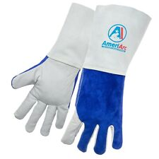 AmeriArc Welding Gloves,Stick,Mig,  L, 14 In.