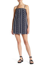 Dolce Vita Hadley Embroidered Dress,Square neck with ruffle trim Medium $150 NWT