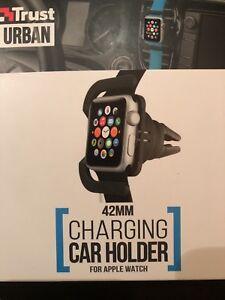 Charging Car Holder For Apple i Watch 42mm, 100 Genuine high quality, UK Seller
