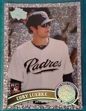 2011 TOPPS DIAMOND ANNIVERSARY CORY LUEBKE ROOKIE #193 SD PADRES PIT PIRATES RC