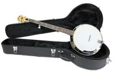 Rally 5 String banjo, Maple resonator, geared tuners CC100R Series hard case