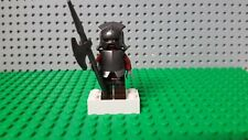 Lego Lord of the Rings minifigure x1.Genuine URUK- hai minifig+ weapons.RARE