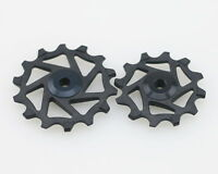 J&L 12T+14T Ceramic Derailleur Pulley/Jockey For Shimano Dura Ace R9100&R9150