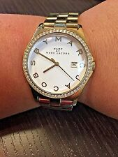 Marc Jacobs Ladies' Marc by Henry Watch Yellow Gold Tone MBM3045
