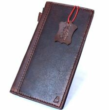 genuine Natural leather Case for Samsung Galaxy S8 Plus Cards slots Slim Davis