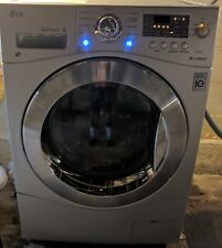 LG WM3477HS Gray All-in-One Washing Machine Slightly Used Large Capacity