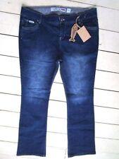 Cotton Bootcut Plus Size L32 Jeans for Women