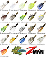 Z-MAN Chatterbait Original 1/2oz Bladed Vibrating Swim Jig CB12 Any 20 Colors