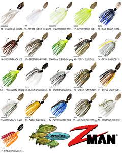 Z-MAN Chatterbait Original 1/2oz Bladed Vibrating Swim Jig CB12 Any 20 Colors