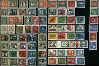 GERMANY Semi-Postal Stamps Postage Collection 1957-1967 MLH USED