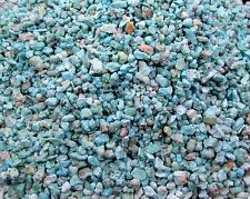 Blue Green Sonoran Turquoise Inlay Material 8 ounce natural chips wood stone