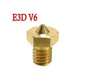 E3D M6 Nozzle's 1.75 filament set of 5