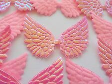 100! Angel & Fairy Wings - Pale Pink Iridescent & Felt Wing Embellishments!