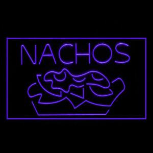 110099 Nachos Mexican Chili Tapas Quesadilla Display Neon Sign