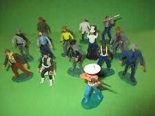14 Stück Umbauten Elastolin Steckfiguren Cowboys
