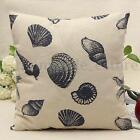 Fashion Vintage Cotton Linen Cushion Cover Throw Pillow Case Waist Home Decor