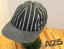 """VINTAGE """"NEW CHEF"""" CHEFS HAT BLACK/WHITE REF STYLE SNAPBACK USA MADE VGC A25"""