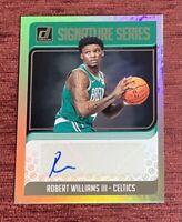 2018-19 Donruss ROBERT WILLIAMS Rookie Signature Series Auto SG-RWL RC Celtics🔥