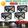 1/2/4X 100LED Lampada Solare Luce da Esterno Giardino IP65 Sensore di Movimento