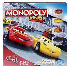 Monopoly Junior Cars 3 Board Game (Box Damaged)