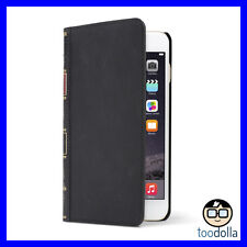 TWELVE SOUTH Bookbook Leather Wallet Case, iPhone 6 Plus / 6s Plus, BLACK