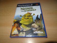 PS2 SHREK THE THIRD SONY SIGILLATO in fabbrica NUOVO UK VERSIONE PAL