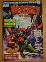 WEREWOLF BY NIGHT#19 1974 MARVEL BRONZE AGE COMICS Very Nice