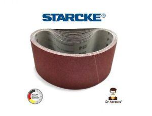 Sanding Belts 100 x 610mm 4'' x 24'' Belt Sanders STARCKE Made in Germany