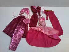 Superstar/Contemp Barbie Rose/Wine Fancy Lot