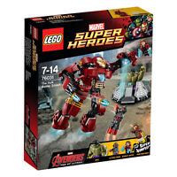 LEGO Marvel Super Heroes 76031 Iron Man The Hulk Buster Smash | Brand New Sealed